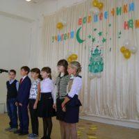 Выступление учащихся 5 класса на концерте, посвященному Дню Учителя